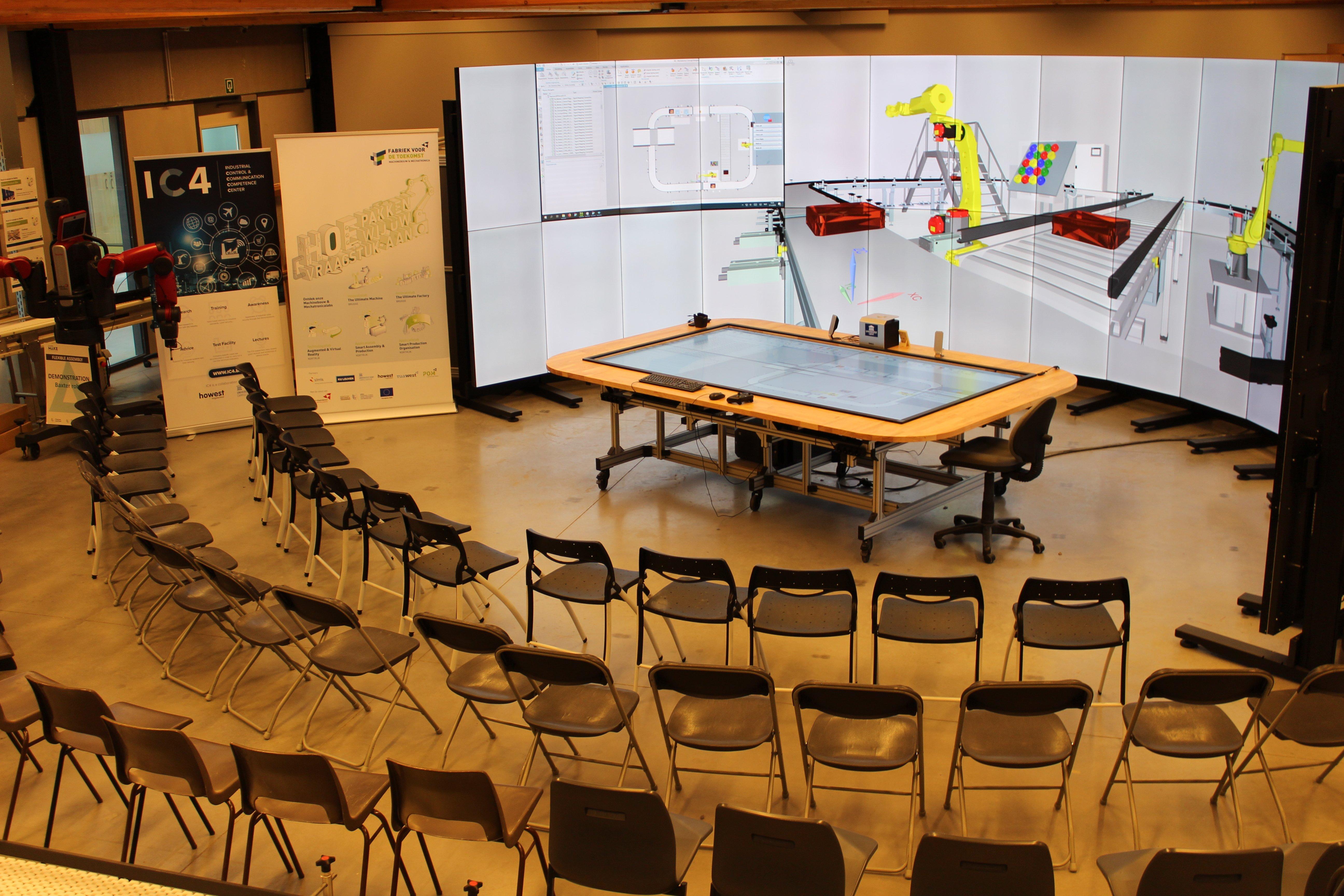 根特大学数字孪生控制室