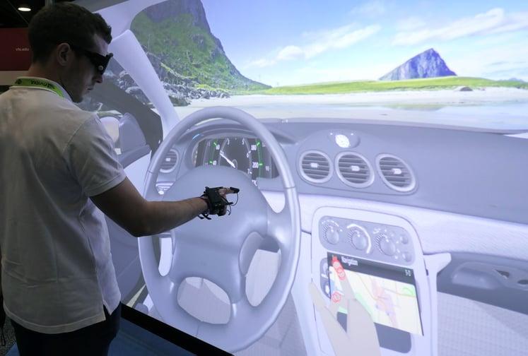 虚拟汽车驾驶