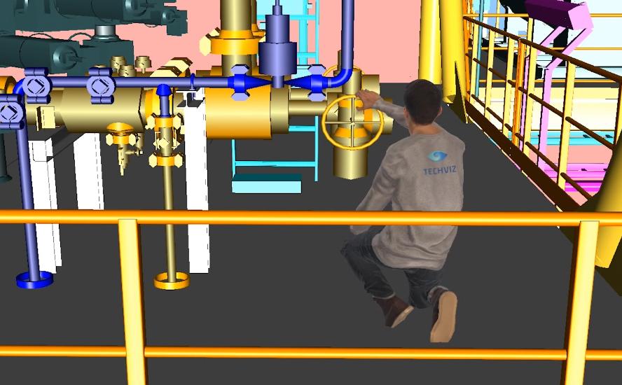 VR operator